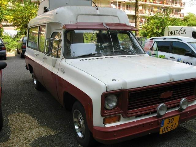 1974 Chevrolet Suburban Visser ambulance