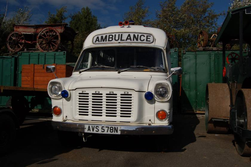 1974 Ford Transit Ambulance