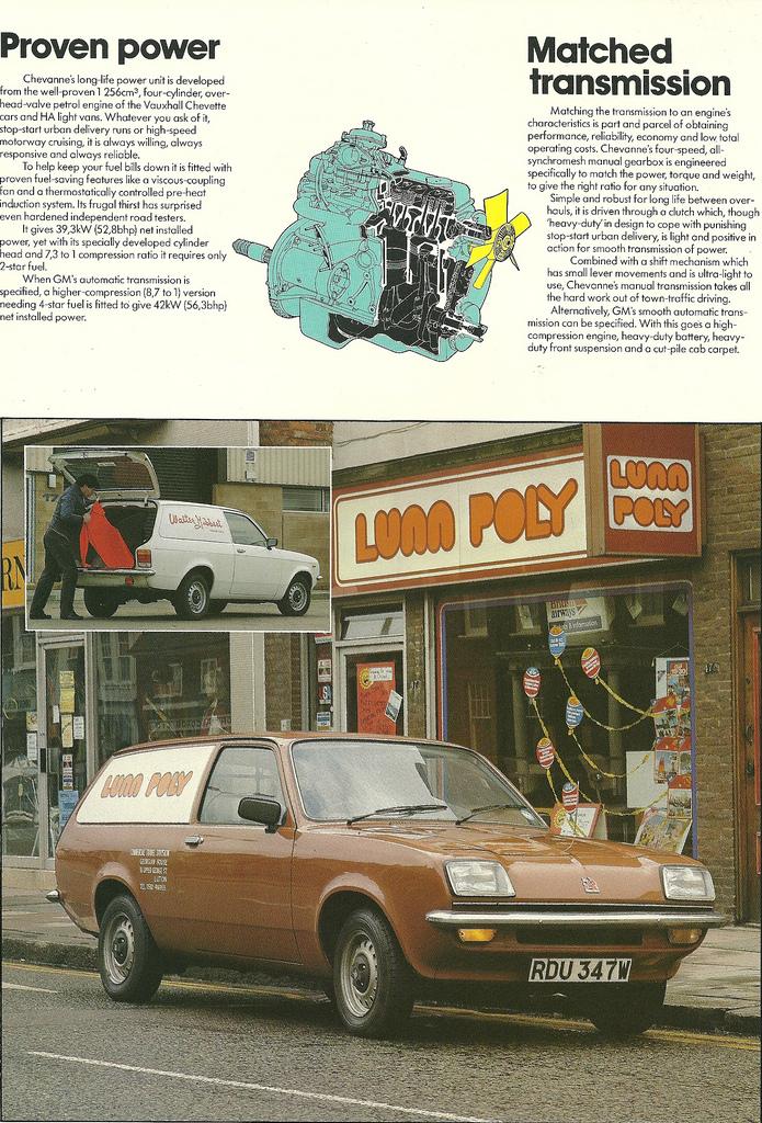 1975 Vauxhall - Bedford Chevette Van