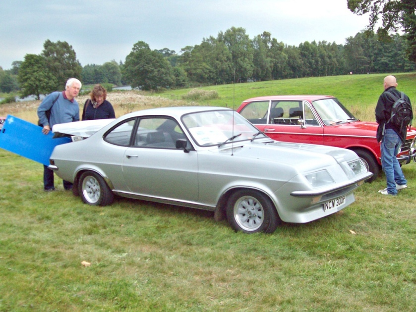 1975 Vauxhall Firenza Droopsnoot  Engine 2279cc S4