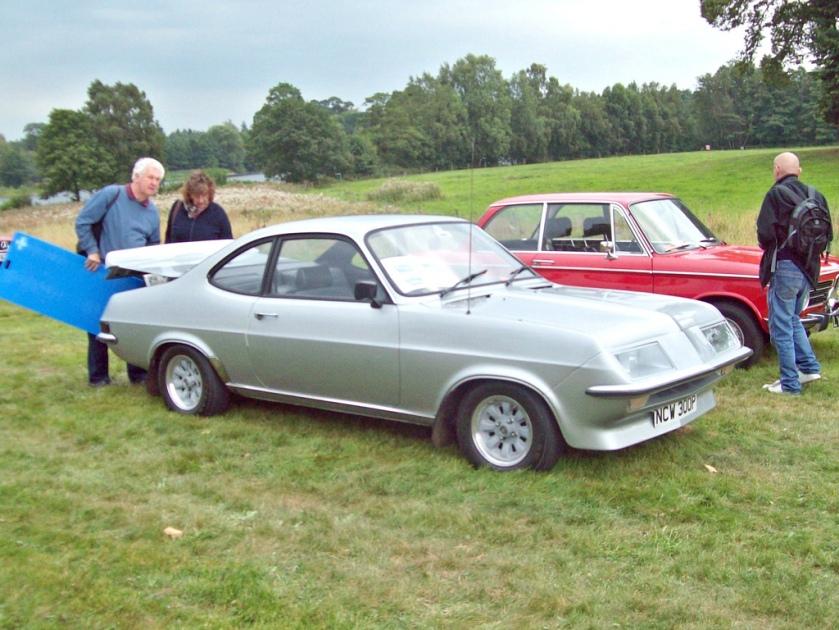 1975 Vauxhall Firenza Droopsnoot  Engine 2279cc S4