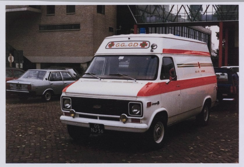 1976 Ambulance Chevrolet Van C10