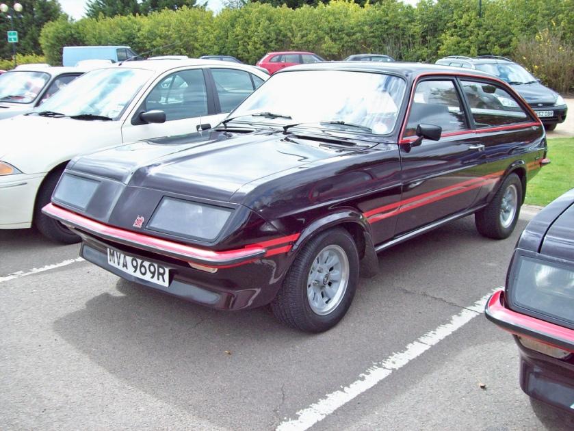 1976 Vauxhall Magnum Sportshatch Engine 2279 S4