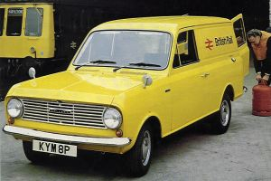 1977 Bedford HA (afgeleid van Vauxhall Viva)