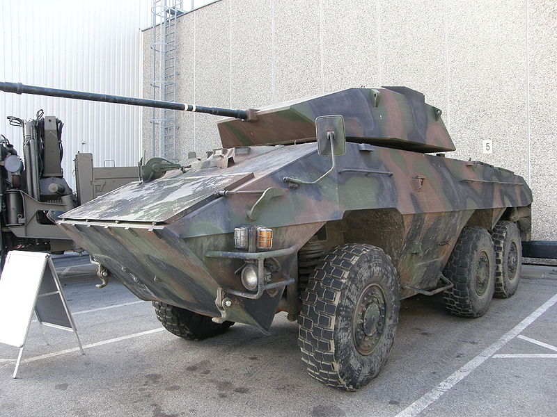 1977 ÖAF light wheeled tank