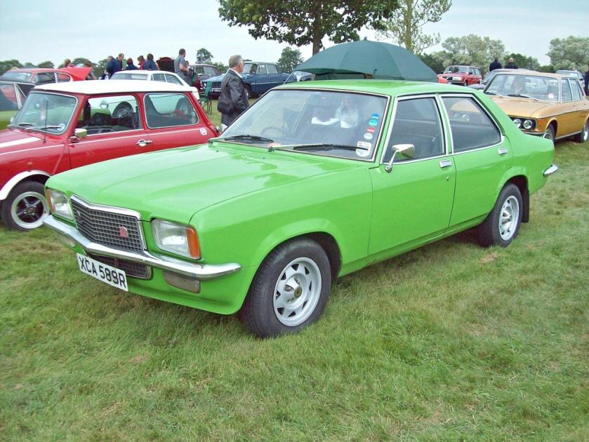 1978 Vauxhall VX 2300 GLS (FE) Engine 2279cc S4