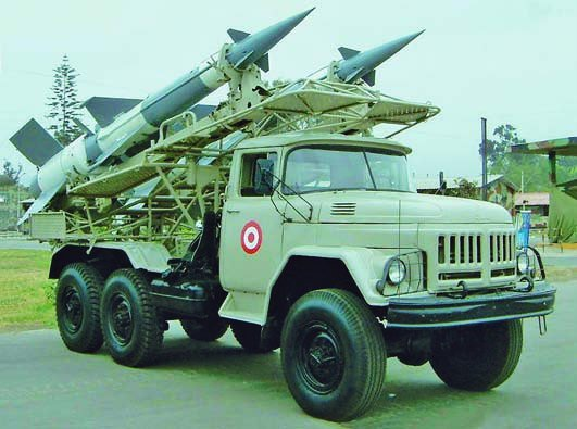 1978 ZIL-131 chassis PR-14М resupply vehicle