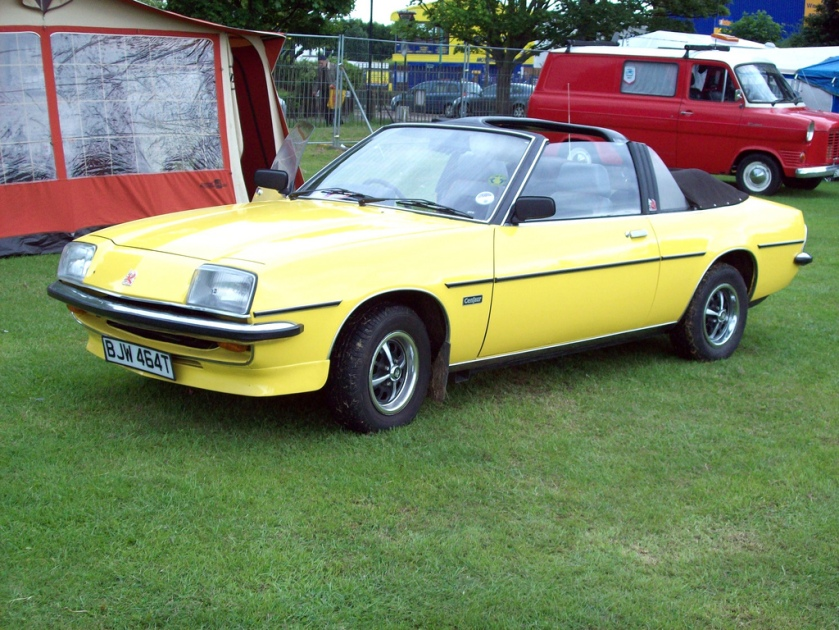 1979 Vauxhall Cavalier Mk.1 Coupe Centaur  Engine 1979cc S4 OHV