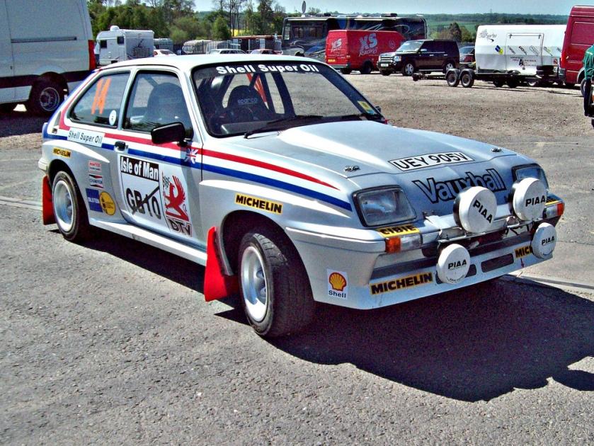 1979 Vauxhall Chevette HS Engine 2279cc S4