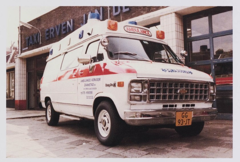 1980 Ambulance Chevrolet van C10