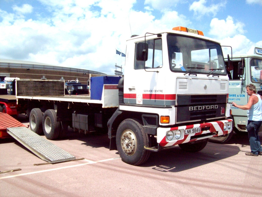 1980 Bedford TM3650 Flatbed Recovery Truck Detroit powered Bedford with Brimec Body