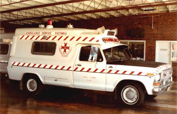 1980 Ford F-100 Ambulance