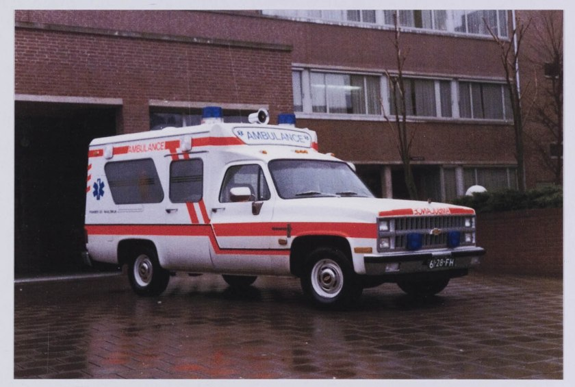 1981 Ambulance Chevrolet C20