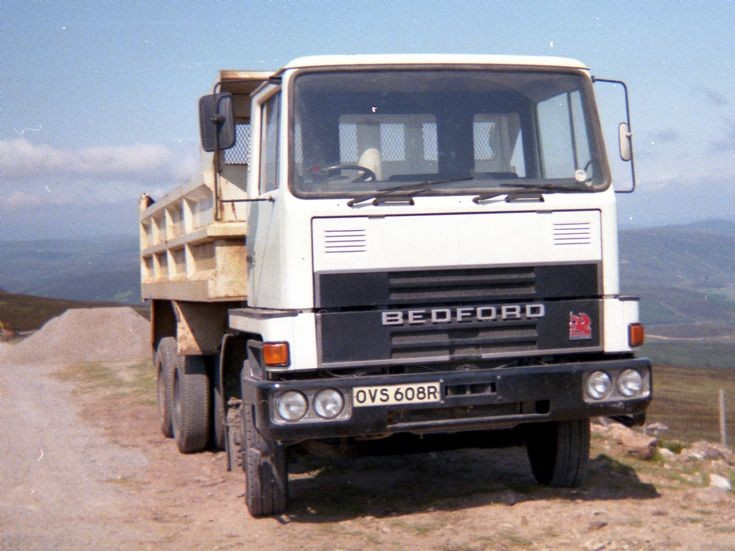 1981 Bedford TM in the hills above Helmsdale, NE Scotland