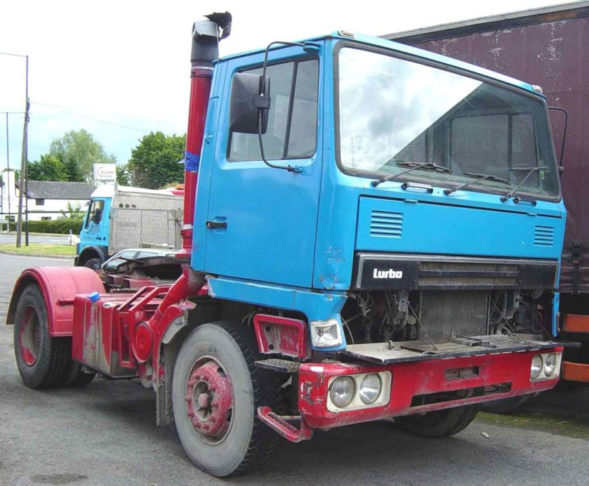 1981 BEDFORD TM Turbo