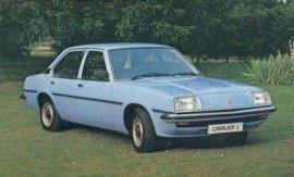 1981 Vauxhall Cavalier L 4-Door