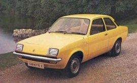 1981 Vauxhall Chevette E
