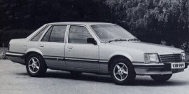 1981 Vauxhall Royale Saloon