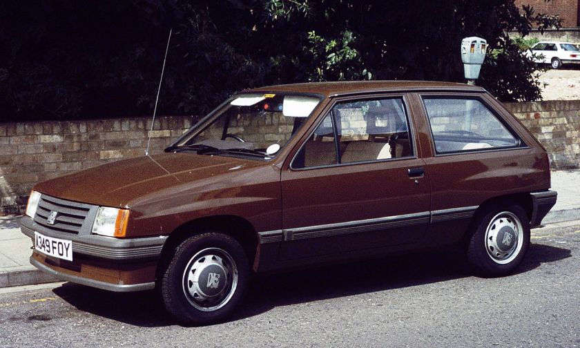1982 Vauxhall Nova 1982