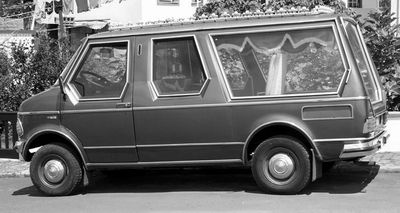 1983 Bedford CF hearse Portugal