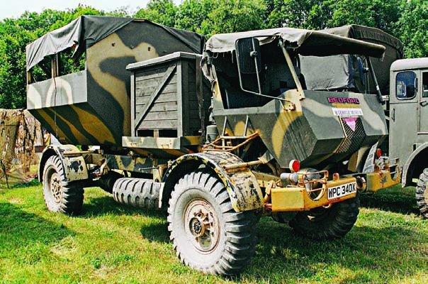 1983 Bedford MJP2, 4х4