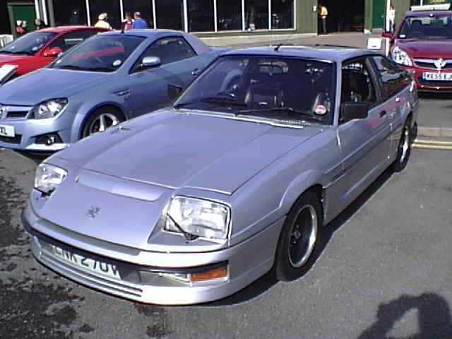 1983 Vauxhall Silver Aero Concept Car