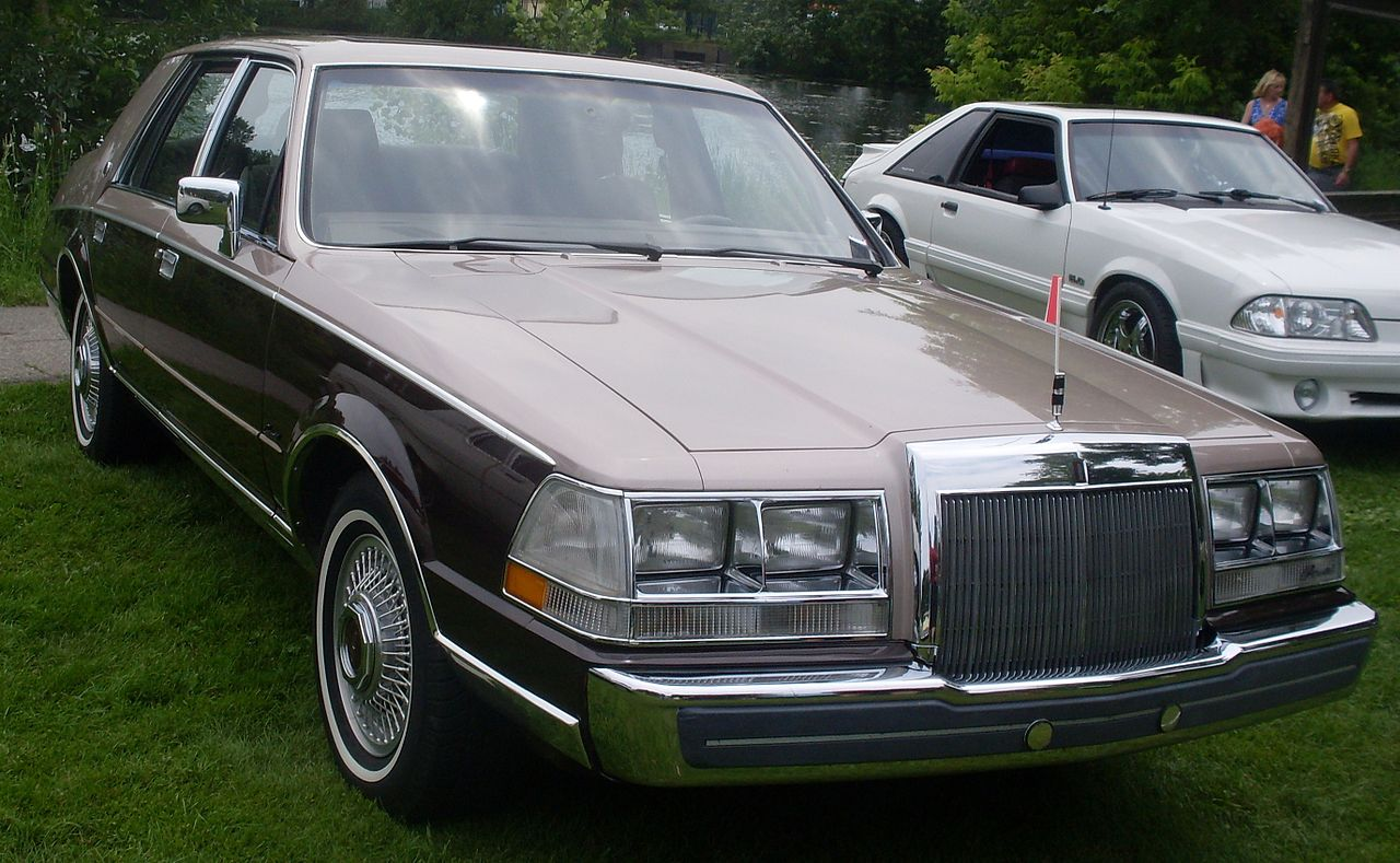 lincoln continental 1987 the image kid has it. Black Bedroom Furniture Sets. Home Design Ideas