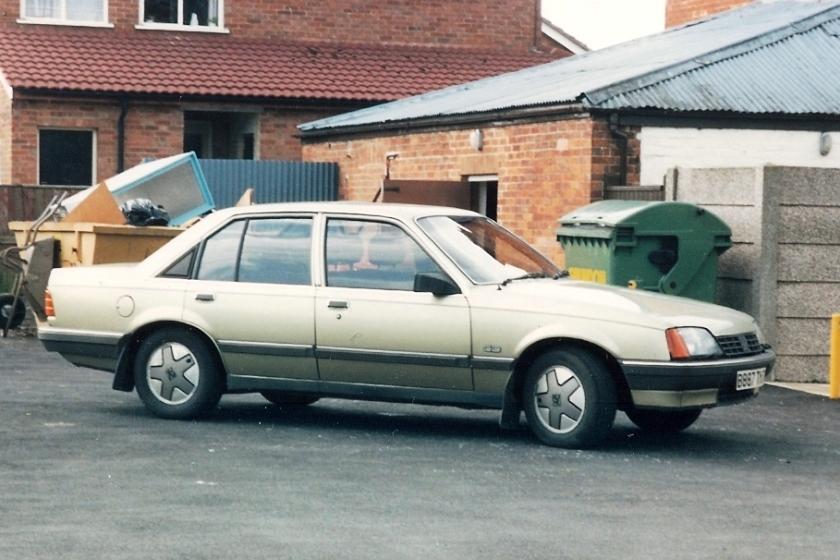 1984 (78-94) Vauxhall Carlton (MarkI)CD2.0sedan