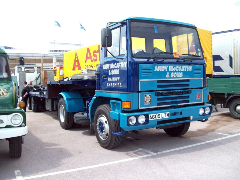 1984 Bedford TM3650 Articulated Unit Engine 6980 cc Registered A 605 LTM