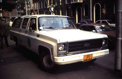 1984 Chevrolet C10, Rotterdam police