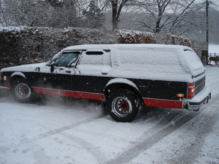 1984 Chevrolet Caprice Hearse