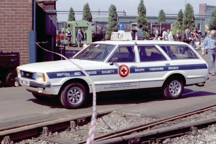 1984 Ford Cortina Ambulance 1984