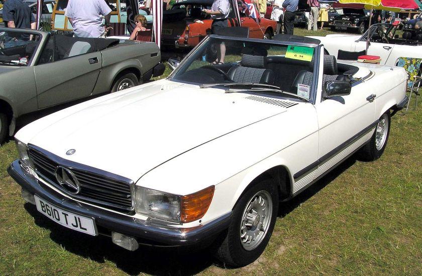 1984 Mercedes Benz 280sl.arp