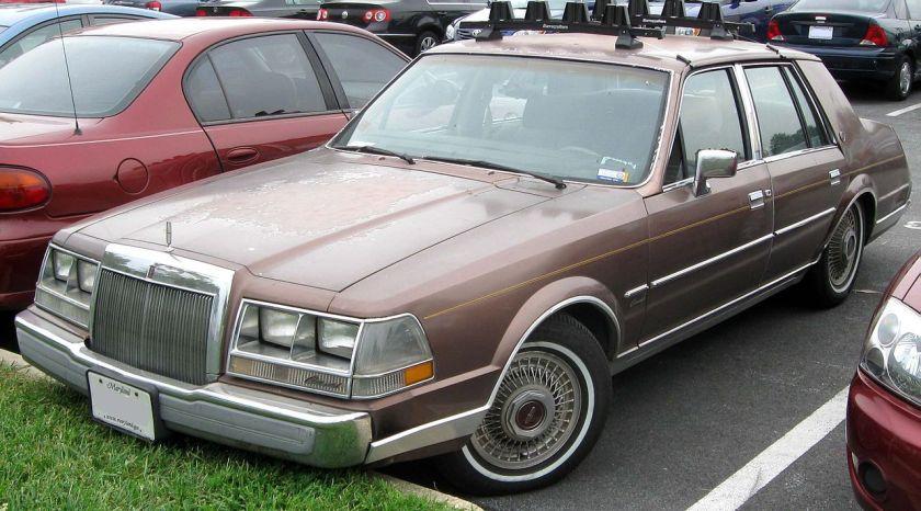 1984–87 Lincoln Continental