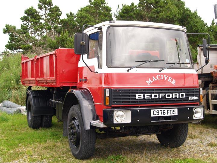 1985 Bedford Tl Tipper