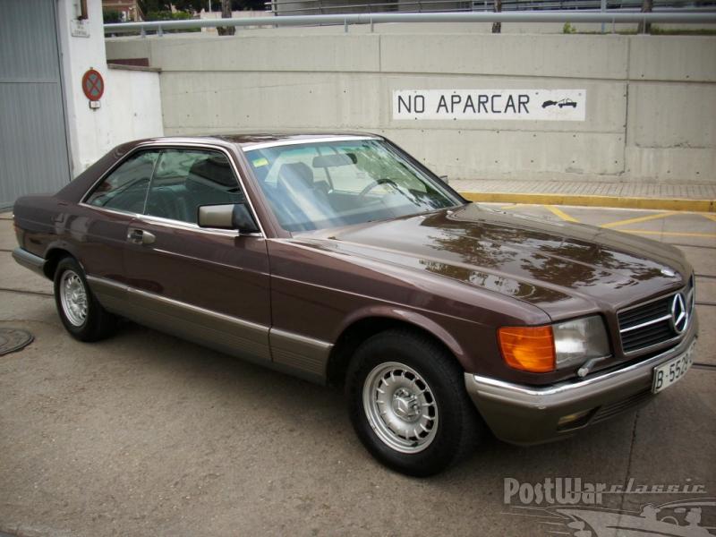 1985 Mercedes-Benz 500 SEC COUPE