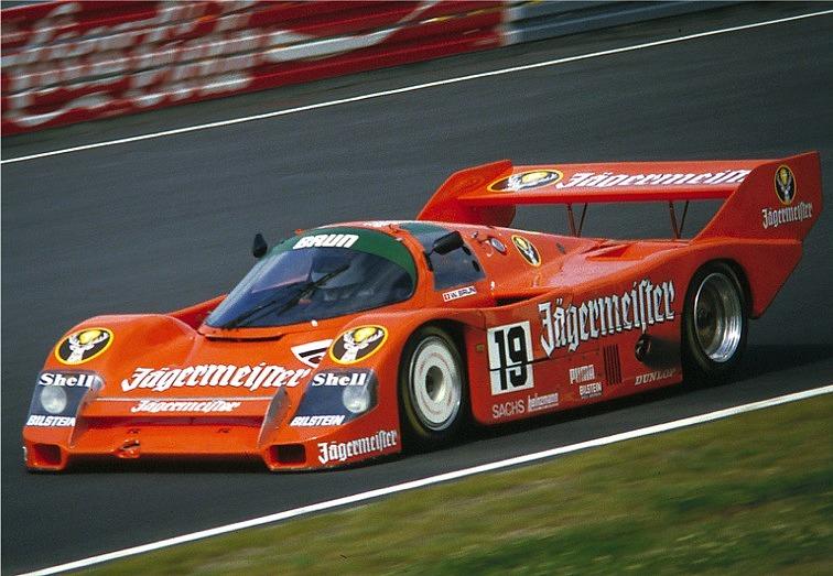 1985 Porsche 956 W Brun