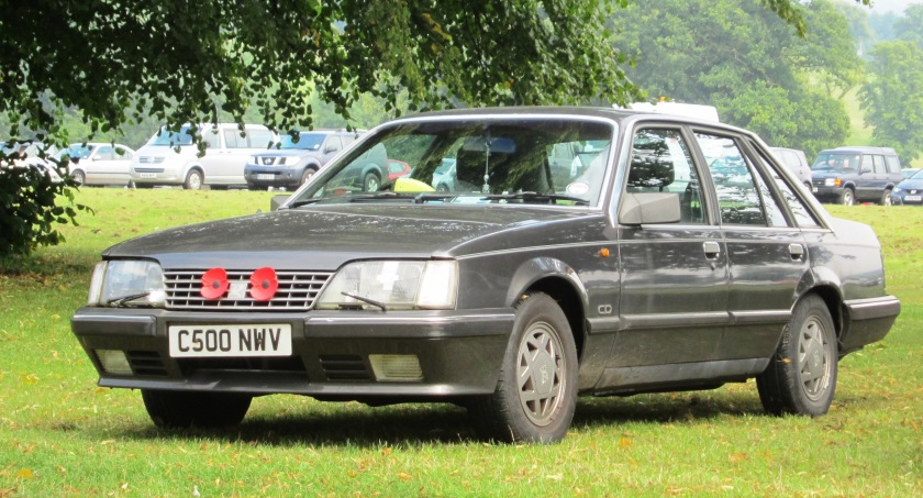 1985 Vauxhall Senator with war poppies registered August 1985 2968cc