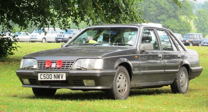 1985 Vauxhall Senator with war poppies registered August 1985 2968cc