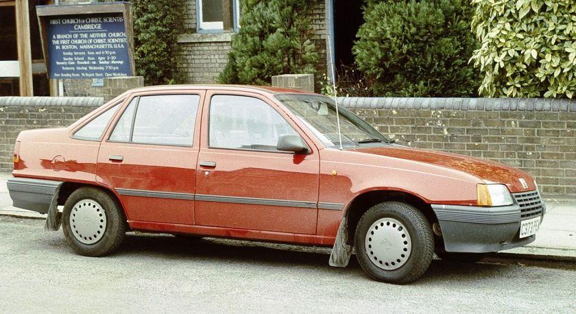 1986-91 Vauxhall Belmont