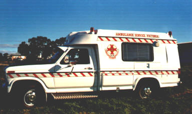 1986 Ambulance Ford 250