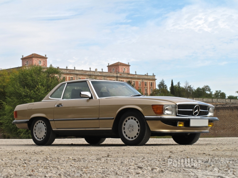 1986 Mercedes-Benz 300 SL (W107)