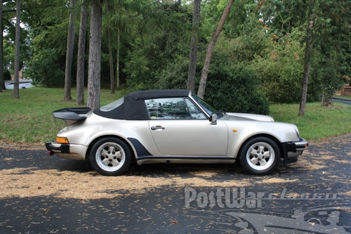 1986 Porsche 911 Supersport Cabriolet