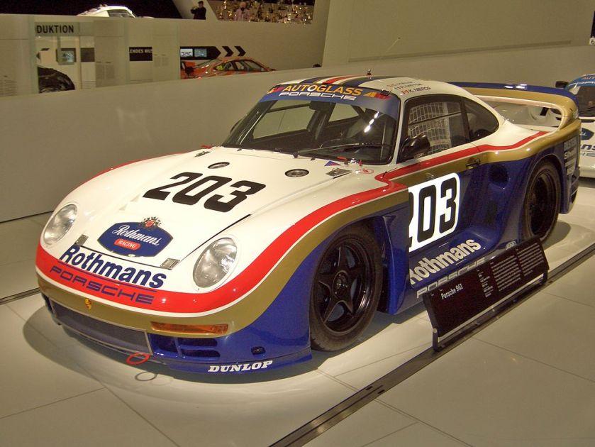 1986 Porsche 961 Coupe