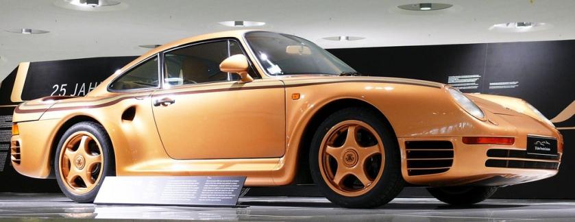 1987 Porsche 959 gold vrt