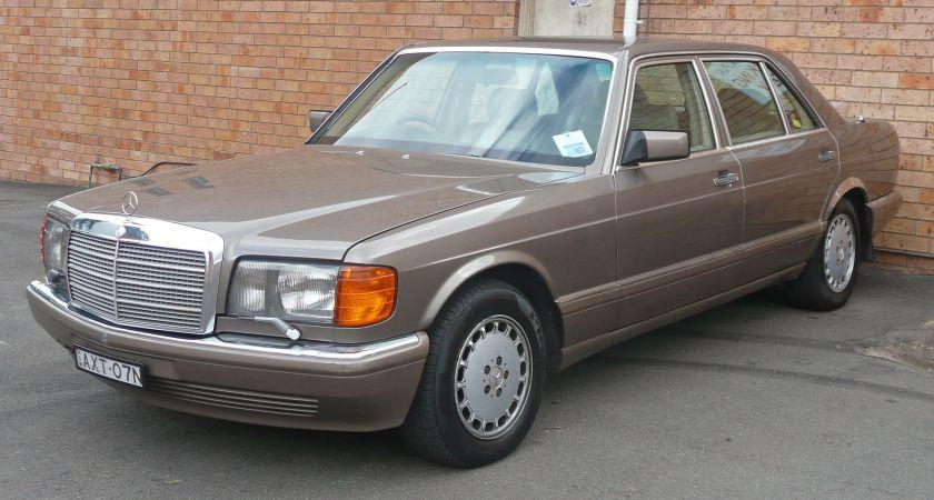 1987–1992 Mercedes-Benz 300 SEL (W126) sedan