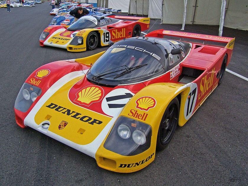 1988 Porsche 962 Le Mans at Silverstone 2007