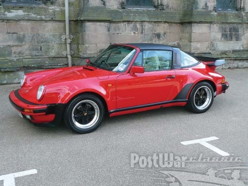 1989 Porsche 911 Supersport Targa