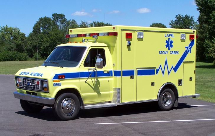 1990 Ford E-350-Mobile Medical