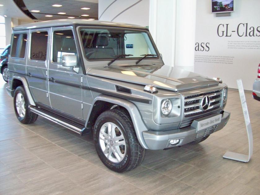 1990-on Mercedes LWB G350 Blutec